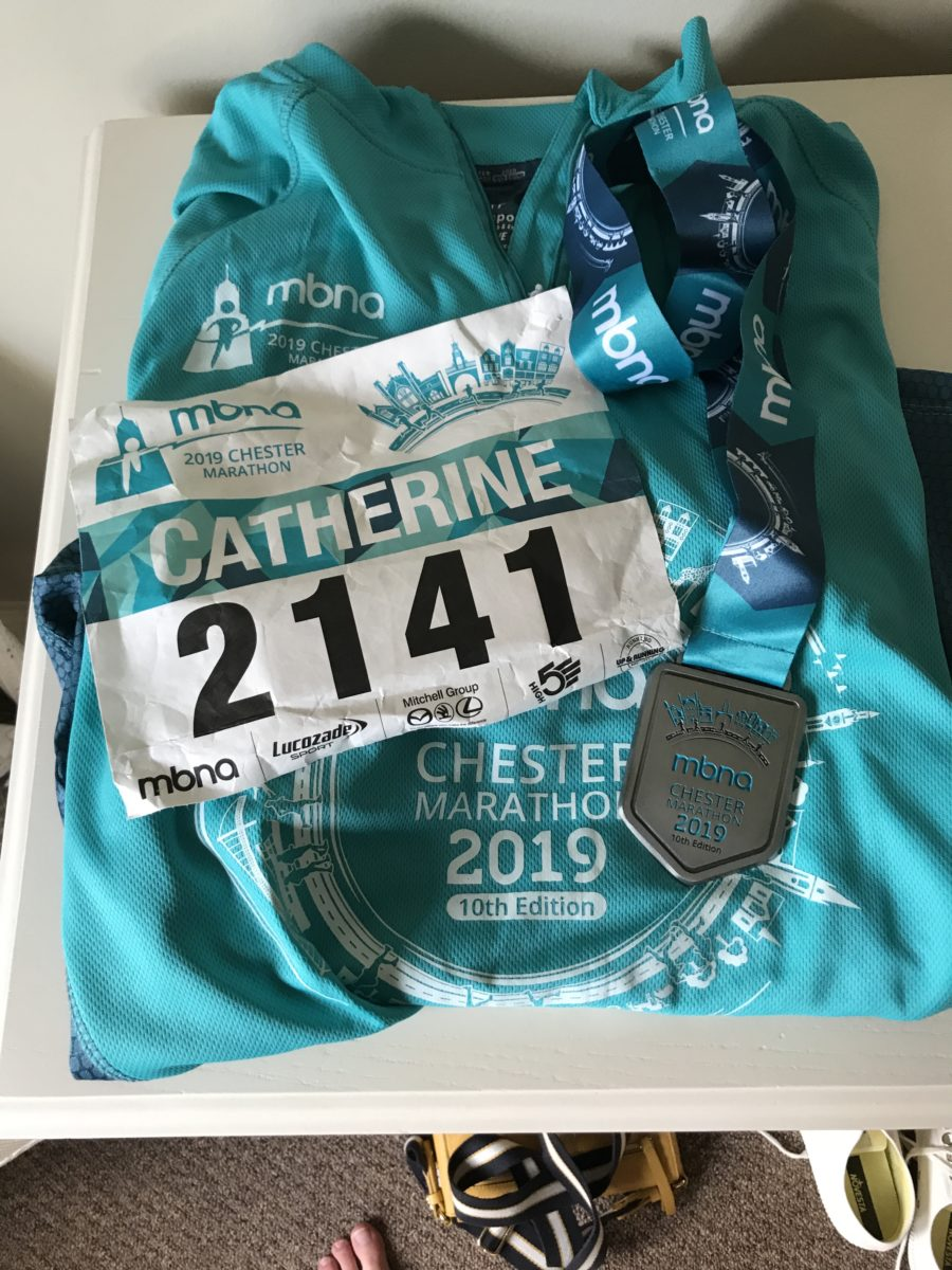Running a marathon and running a business, Catherine Every, B2B copywriter, Pippin Copywriting